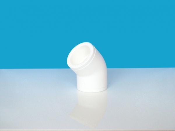 Cot de polipropilena (PPR) la 45⁰ Dn 40 0