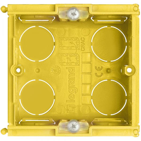 Doza 2 module Incastrata in tencuiala Bticino 502E 0