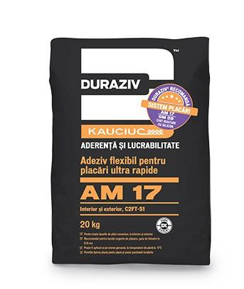 DURAZIV-AM-17-Adeziv-flexibil-pentru-placări-ultra-rapide-la-interior-exterior-aditivat-Kauciuc 0