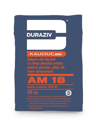 DURAZIV-AM-18-Adeziv-alb-flexibil-piscine-plăci-mari-dimensiuni-aditivat-Kauciuc 0