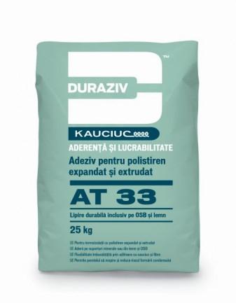 DURAZIV AT 33 Adeziv pentru polistiren expandat și extrudat, aditivat cu Kauciuc 0