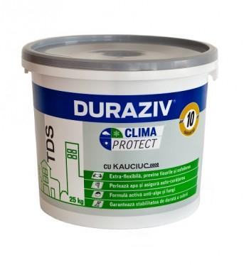 DURAZIV Clima Protect® cu Kauciuc® TENCUIALĂ DECORATIVĂ STRUCTURATĂ TDS 0