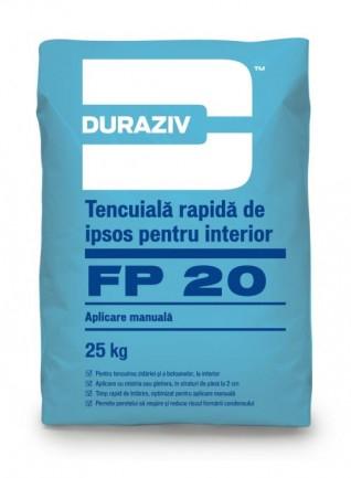 DURAZIV FP 20 Tencuială rapidă de ipsos [0]