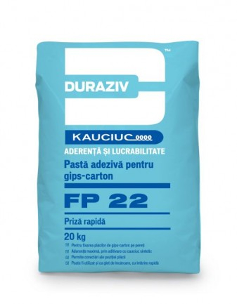 DURAZIV FP 22 Pastă adezivă pentru gips-carton, cu priză rapidă 0