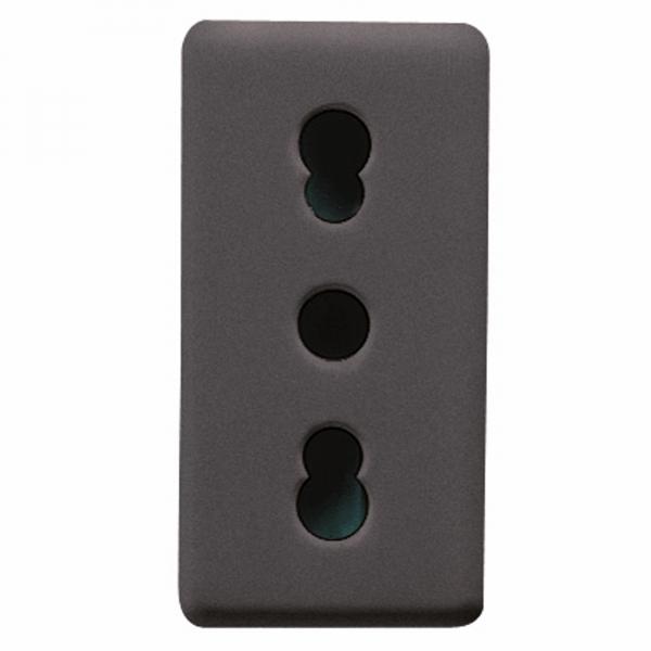 GW21203 - Priza suko standard italia culoare neagra - 1 modul 0