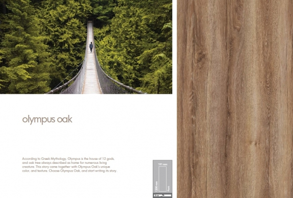 Parchet 8mm Olympos Oak 1