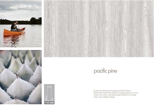Parchet 8mm Pasifik Pine 1