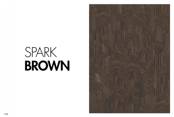 Parchet 12mm Spark Brown 0