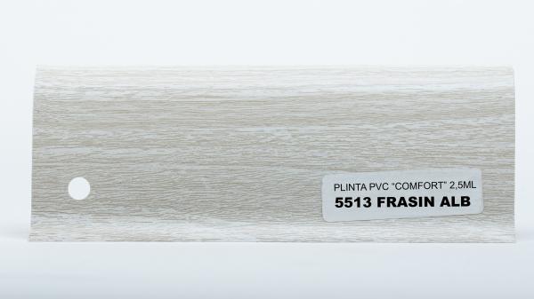 Plinta Frasin Alb cod 5513 0