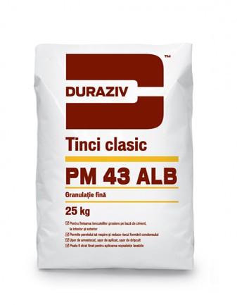 PM 43 ALB Tinci clasic alb 0