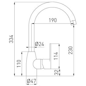 FRESH baterie stativa bucatarie grafit1
