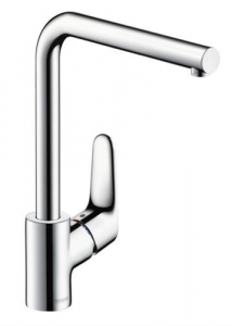 Baterie bucatarie Hansgrohe Focus 280, crom0