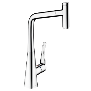 Baterie bucatarie Hansgrohe Metris Select 320, dus extractibil0