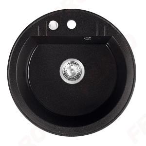 Chiuveta granit 1 cuva rotunda 510mm  MEZZO II, grafit0