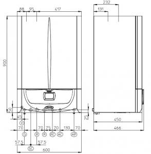 Centrale termice condensare cu boiler incorporat IMMERGAS Victrix Zeus Superior 32kW1