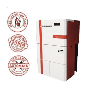 Cazan pe peleti complet automatizat, 30.8 kw, Thermica Carpatino 34 by Biodome 0