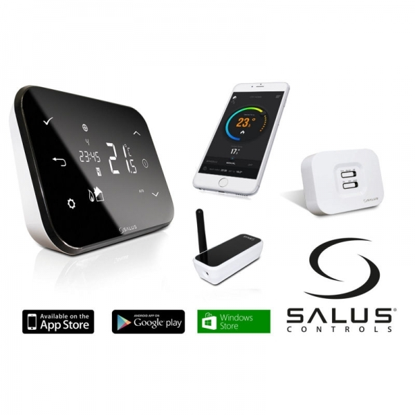 Termostat wireless programabil wi-fi SALUS IT500 1