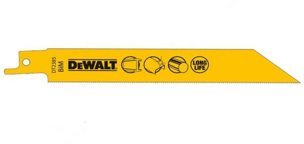 Set 5 lame fierastrau orizontal 152x1.1mm metal DeWalt - DT2385-QZ 1