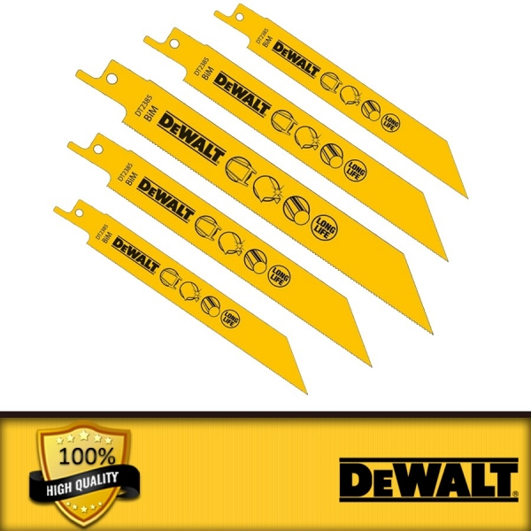 Set 5 lame fierastrau orizontal 152x1.1mm metal DeWalt - DT2385-QZ 0