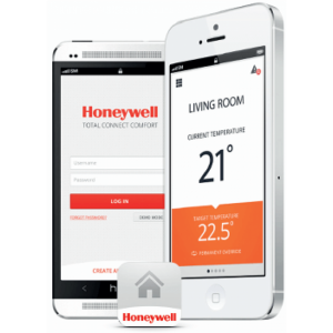 Termostat de ambianta HONEYWELL on/off WiFi, The Round connected Y87 RFC2
