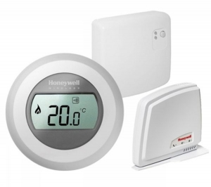 Termostat de ambianta HONEYWELL on/off WiFi, The Round connected Y87 RFC0