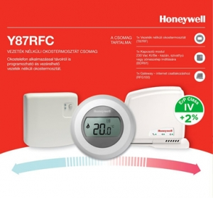 Termostat de ambianta HONEYWELL on/off WiFi, The Round connected Y87 RFC1