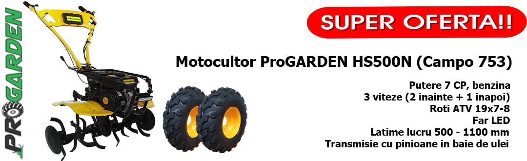 Motocultor ProGARDEN HS500N (Campo 753)