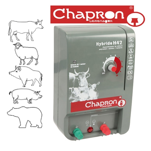 Aparat gard electric Chapron Hybride H42, 220V / 12V, 4.25 J [0]