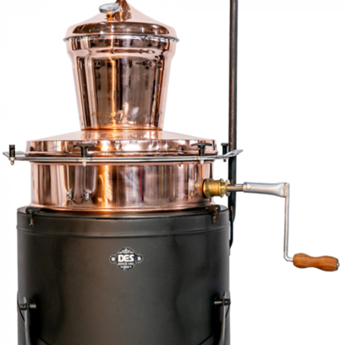 Cazan pentru tuica, cu amestecator Des BASCULANT 60 litri [2]