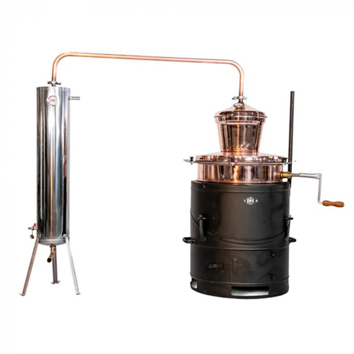 Cazan pentru tuica, cu amestecator Des BASCULANT 60 litri [0]