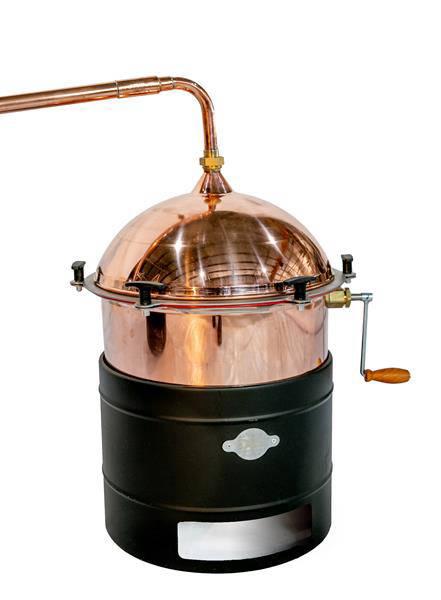 Cazan pentru tuica, cu amestecator Des HOBBY 35 litri, focar pe gaz [1]