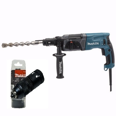 Ciocan rotopercutor SDS-Plus MAKITA HR2470T, 780 W, 2.4 J, 24 mm 0