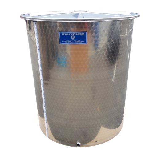 Cisterna inox Marchisio SPO1000, 1000 litri, capac flotant cu ulei de parafina, 1000x1300 mm [2]