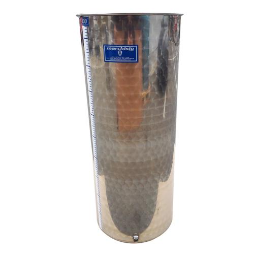 Cisterna inox Marchisio SPO100A, 100 litri, capac flotant cu ulei de parafina, 384x1000 mm 3