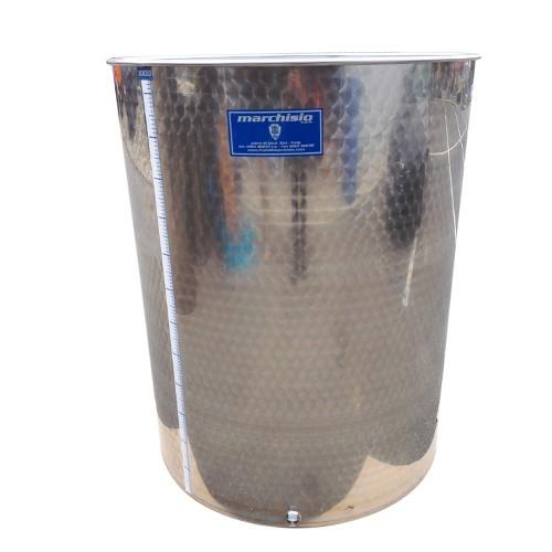 Cisterna inox Marchisio SPO2150, 2150 litri, capac flotant cu ulei de parafina, 1190x2000 mm [2]