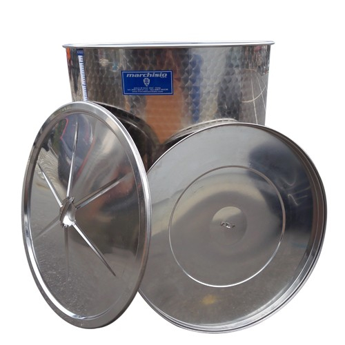 Cisterna inox Marchisio SPO2150, 2150 litri, capac flotant cu ulei de parafina, 1190x2000 mm [1]