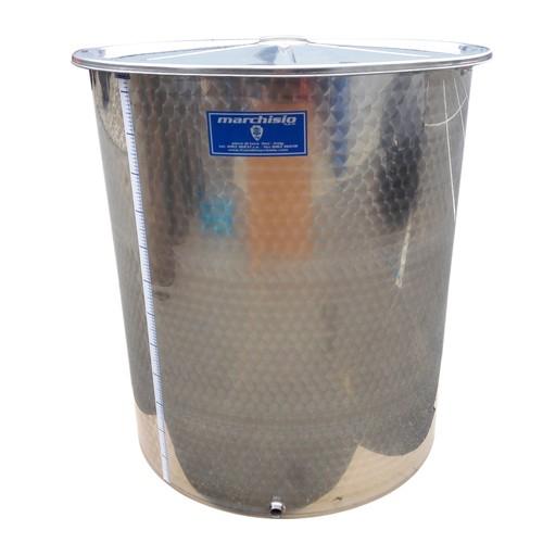 Cisterna inox Marchisio SPO2150, 2150 litri, capac flotant cu ulei de parafina, 1190x2000 mm [3]