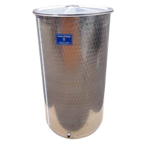 Cisterna inox Marchisio SPO700, 700 litri, capac flotant cu ulei de parafina, 790x1500 mm [2]
