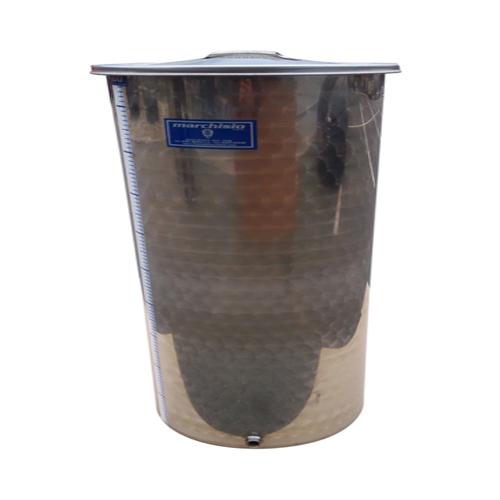 Cisterna inox Marchisio SPO80, 80 litri, capac flotant cu ulei de parafina, 384x750 mm [2]