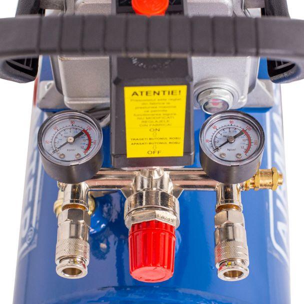 Compresor cu piston Airmaster AIRMASTER210/24, 24 L, 8 bar, 198 l/min, 2 CP, monofazat [6]