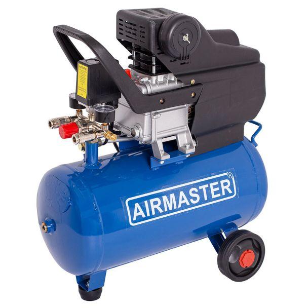 Compresor cu piston Airmaster AIRMASTER210/24, 24 L, 8 bar, 198 l/min, 2 CP, monofazat [1]