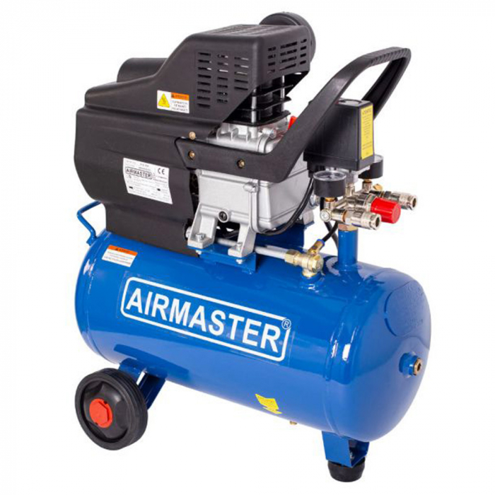 Compresor cu piston Airmaster AIRMASTER210/24, 24 L, 8 bar, 198 l/min, 2 CP, monofazat [0]