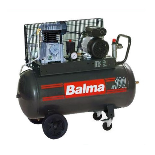 Compresor cu piston Balma NS12S-100 CM3, 100 L, 10 bar, 320 l/min, 3 CP, monofazat [0]