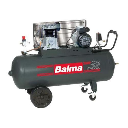 Compresor cu piston Balma NS19S-150 CM3, 150 L, 10 bar, 393 l/min, 3 CP, monofazat [0]