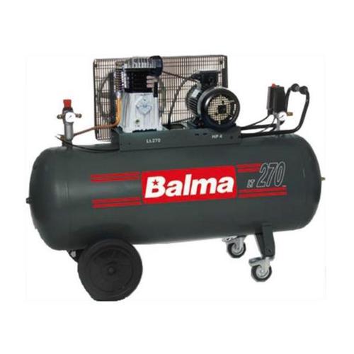 Compresor cu piston Balma NS19S-270 CT4, 270 L, 10 bar, 486 l/min, 4 CP, trifazat [0]