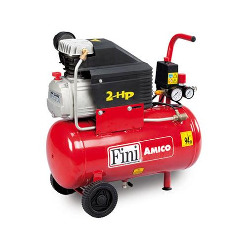 Compresor cu piston Fini AMICO 25/2400, 24 L, 8 bar, 170 l/min, 2 CP, monofazat [0]