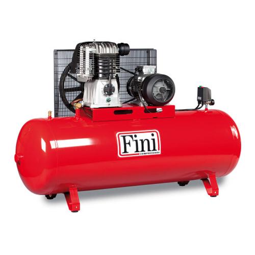 Compresor cu piston Fini BK120-500F-10, 500 L, 10 bar, 1080 l/min, 10 CP, trifazat [0]