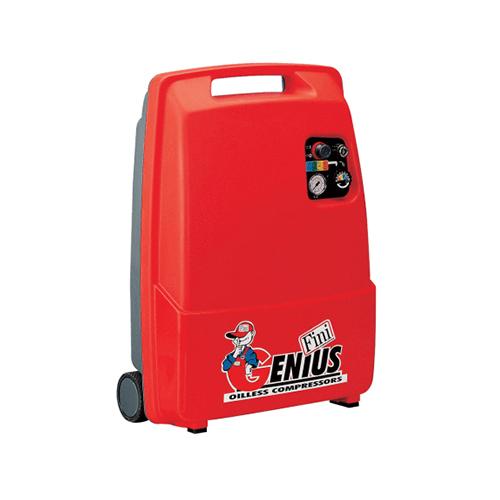 Compresor fara ulei Fini GENIUS M/230, 6 L, 8 bar, 215 l/min, 2 CP, monofazat [0]