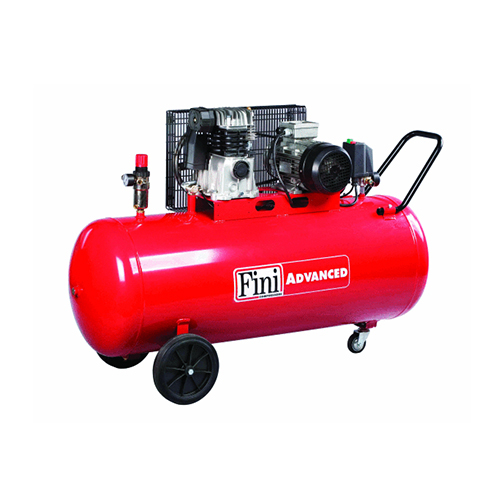 Compresor cu piston Fini MK103-200-4, 200 L, 10 bar, 395 l/min, 4 CP, trifazat [0]