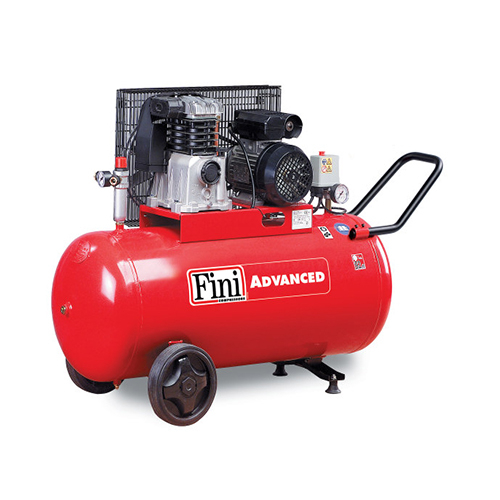 Compresor cu piston Fini MK103-90-3M, 90 L, 10 bar, 365 l/min, 3 CP, monofazat [0]